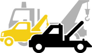 Three Towing Truck Icon - BD'AZ Towing